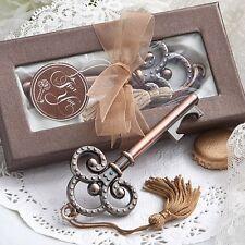 Vintage Skeleton Key Bottle Opener Favor Wedding Bridal Shower Party Favors
