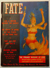 Orig 1950 Fate Magazine V3N2 Indian Goddess of Sex Can a Meteor Destroy Earth