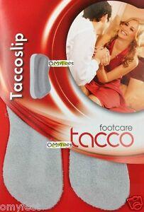 TACCO Slip Suede Heel Grip Slip Shoe Insoles Inserts Tacco-heel-grip 1 size