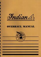 Four Cylinder Indian Motorcycle Overhaul Manual ~ Reprnt