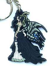 Beautiful Fairy Die Cut Rubber Keyring - Nene Thomas