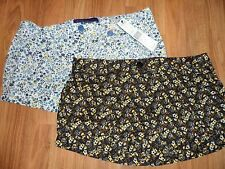 qty: 2 juniors womens shorts ~ 13 large XL ~ floral by Miley Cyrus 24.00 value