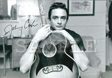 Johnny Cash signed 8x10 Autograph Photo RP - Free ShipN! Ring of Fire