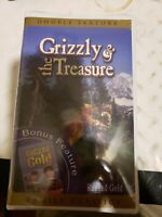 Grizzly and the Treasure / Rugged Gold (VHS, 2001) brand new sealed rare HTF OOP