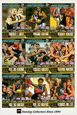 2004 AFL Teamcoach Gold Trading Card Team Set Port Adelaide (10)