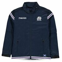 Macron Zip Waterproo Youngster Boys Performance Jacket Coat Top