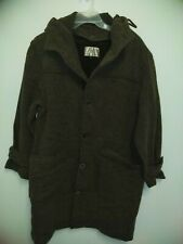 The Territory Ahead Women Brown Wool Coat M