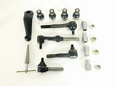 Dana 44 Y Link Steering Kit 1 TON HD Tie Rods Ball Joints Reamer and Hardware