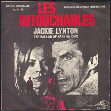 LES INTOUCHABLES BO FILM 45T SP 1969 ENNIO MORRICONE  JACKIE LYNTON VERY RARE AZ