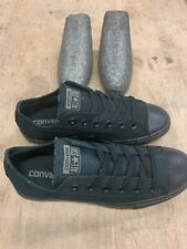 Converse Allstar Chuck Taylor Slim Ox Black Trainers Odd Pair Size 4 and 5 UK