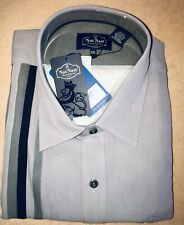 Nat Nast Short Sleeve Shirt XXL New With Tags (70%silk/30%cotton) Original Pack.