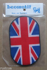 Union Jack Vintage Leomotif Cloth Sew On Patch Badge Crafting Sewing