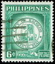 Scott # 656 - 1959 - ' Bacolod City ', Seal of Bacolod City