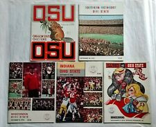 (5) 1974 OHIO STATE Football PROGRAMS - ARCHIE GRIFFIN, WOODY HAYES - Nice