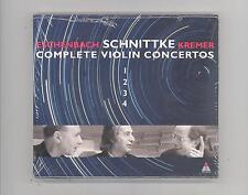 (CD) Schnittke: Complete Violin Ctos /2CDs/ Gidon Kremer;Eschenbach;Chmbr Orch;