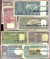 Collect India Old Issue of 100 + 10 + 5 ( 4 DEER) + 5 + 2 + 2 + 1 + 1 = 8 Notes