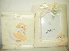 New ListingStephen Tiny Treasures Baby Keepsake Photo Album & Frame - Yellow Ducks