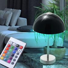 LED RVB LAMPE DE TABLE LA VIE chambre éclairage Télécommande Variateur lumière