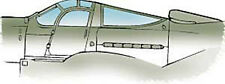 P-39 Q/N Airacobra Vacuform Canopy for Heller (1/72 Squadron 9125)