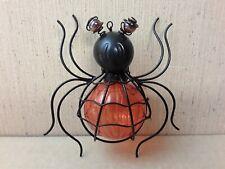 Halloween Pier 1 Solar Orange Spider