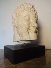 MID CENTURY MODERN AUSTIN SCULPTURE PAN FAUNUS ROMAN MYTHOLOGY GOD GREEK ART