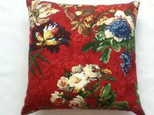 BRUNSCHWIG & FILS LIANE FLORAL Pillow Cushion Cover 100% cotton 18''x 18''  #4