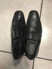 Van Heusen Black Leather Slip-On Men's Dress Shoes Size 9 M