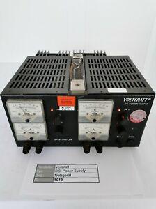 Voltcraft DC Power Supply Doppel Labornetzteil regelbar 2x 0 ... 30V / 2,5A