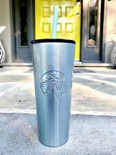 "Starbucks Blue Metallic ""Elsa"" Tumbler 🔥NEW with FREE SHIPPING🔥"