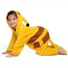 Pokemon Go Pikachu Mascot Costume Pajamas Cosplay XS Child (2t/3t) FAST SHIPPING