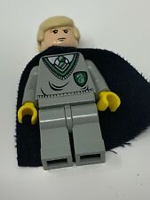Lego Draco Malfoy Cape Set 4735 Harry Potter Minifigure Figure Toy Green Grey