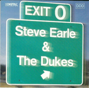 Steve Earle & The Dukes : Exit 0 (CD 1987) *VG COND* BARGAIN!! FREEUK24HRPOST!!