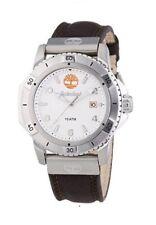 Timberland avanzaba Hombre Reloj Correa De Cuero Marrón - 13327js/01 PVP £ 155