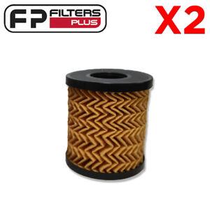 2 x WCO78 Wesfil Oil Filter - Land Rover, Citroen, Ford, Volvo - R2654P, R2663P