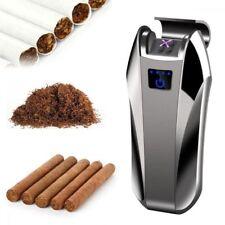 6 colors Dual Arc Electric Plasma Flameless USB Rechargeable Cigarette Lighters