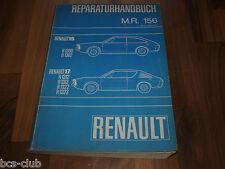 RENAULT 15 17 R15 R17 General WERKSTATT HANDBUCH Auflage 1971