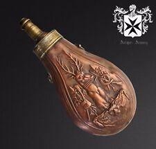 19th Century French Powder Flask Design