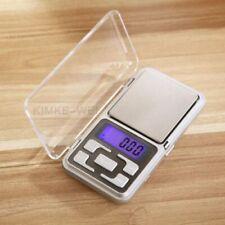 Portátil 200g/0.01g Mini Digital escala joyería bolsillo gramo LCD de peso de equilibrio