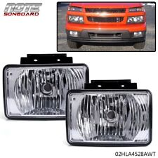 Pair Bumper Fog Light Replacement For 2004-2012 Chevy Colorado Gmc Canyon Pickup (Fits: Isuzu)
