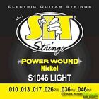 SIT Strings S1046 Power Wound Electric Guitar Strings, Light, 10-46 for sale