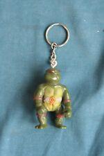TMNT teenage mutant ninja turtle action figure Key Chain Toy bootleg 1990's  #3