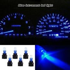 6 Twist Sockets Blue T5 Instrument Gauge Dash LED bulbs light 74 for Honda 2012