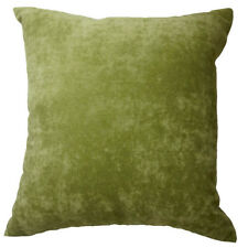 Ma02a Green Soft Velvet Style Cotton Blend Cushion Cover/Pillow Case*Custom Size