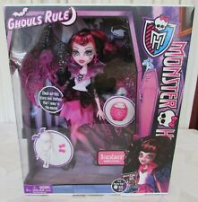 Monster High Ghouls Rule Draculaura Doll 2012 New in Box Actual Doll