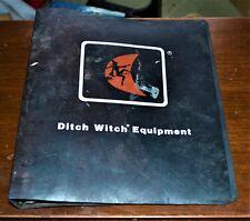 """VTG Ditch Witch 3 Ring Binder  1 ½"""" Notebook & Set of Keys Keyring Key Ring"""