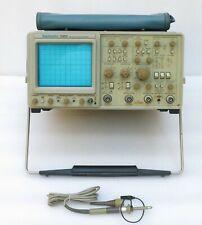 Oscilloscopio tektronix 2465 300mhz oscilloscope tester probe tek p6109 150 mhz