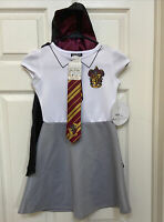 NWT Harry Potter Hogwarts Gryffindor Halloween School Costume Girls Medium/M 8/1
