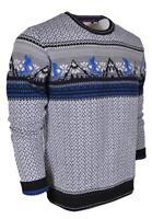 NEW Robert Graham Men's $328 HIT THE SLOPES 100% Wool Crewneck Sweater Shirt