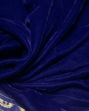 "Micro Velvet Velour Fabric Luxuriously Soft Non Stretch Multiple Colours 44""wide"