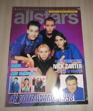 Moffatts Nick Carter E-17 Bsb Hanson B-Witched Britney Spears Thai Magazine '99